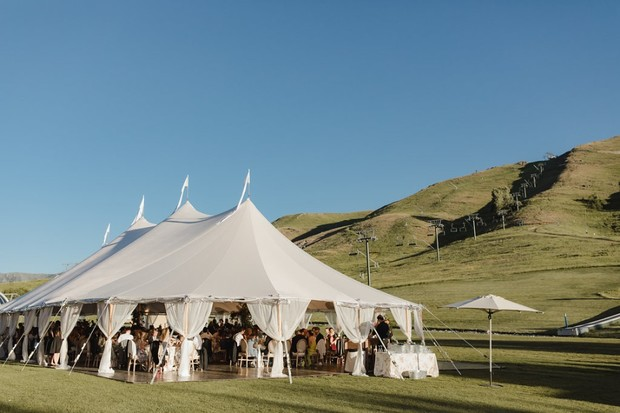 wedding tents by Sperry Tents