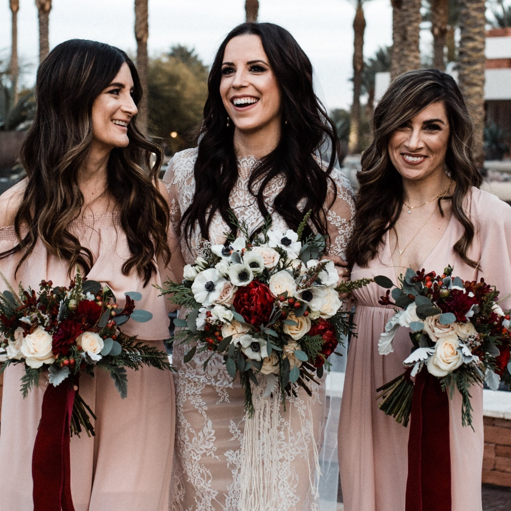 Planning a winter wedding? See the full gallery from Nicole and Josh's gorgeous late December wedding for tons of inspiration!