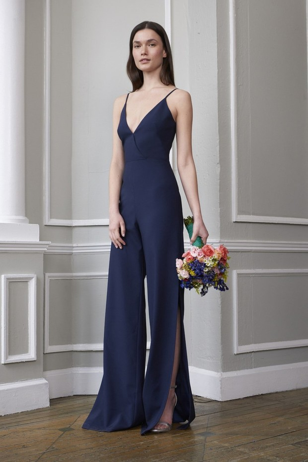 Monique Lhuillier jumpsuit