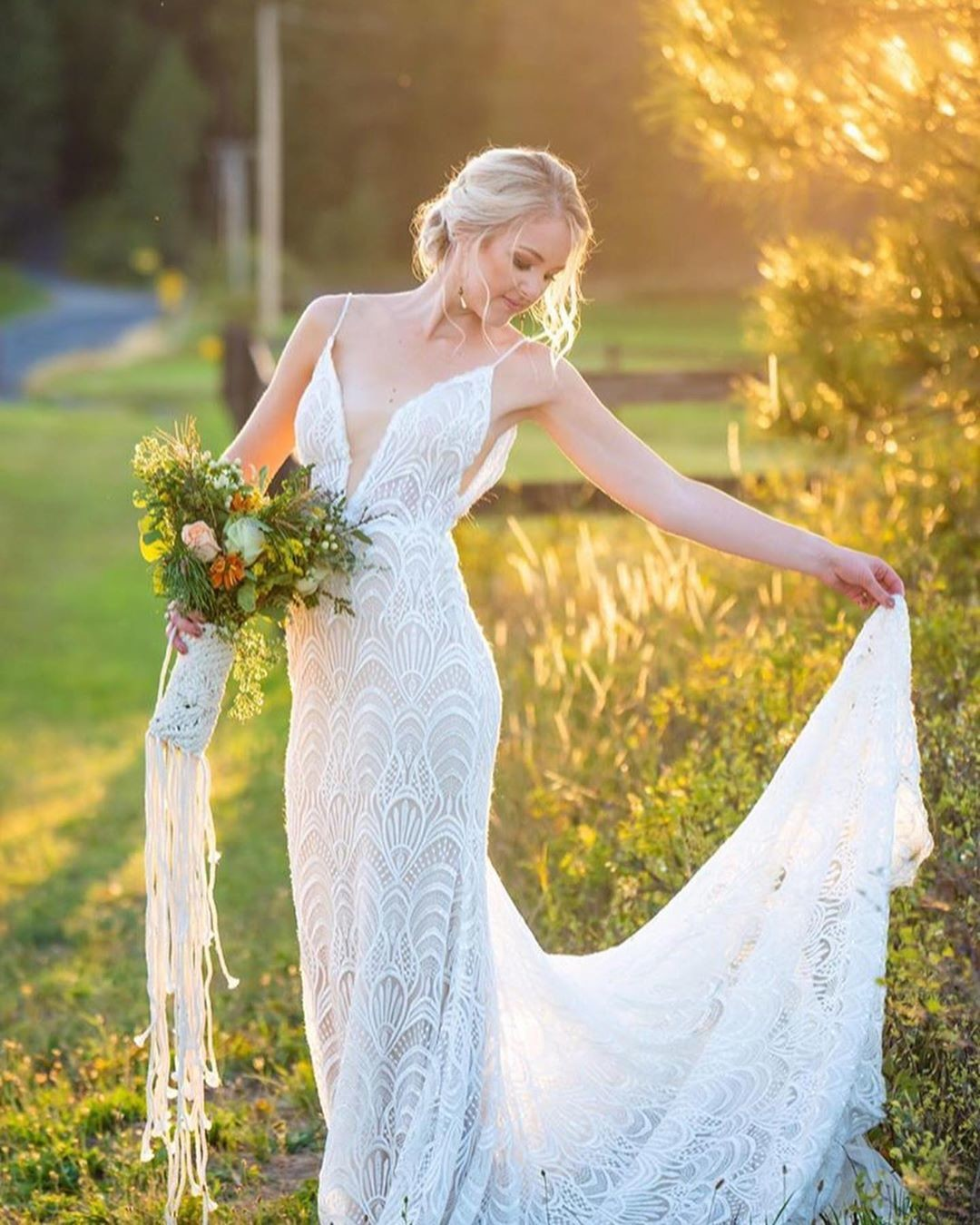 Our #lamourbride looking dreamy in