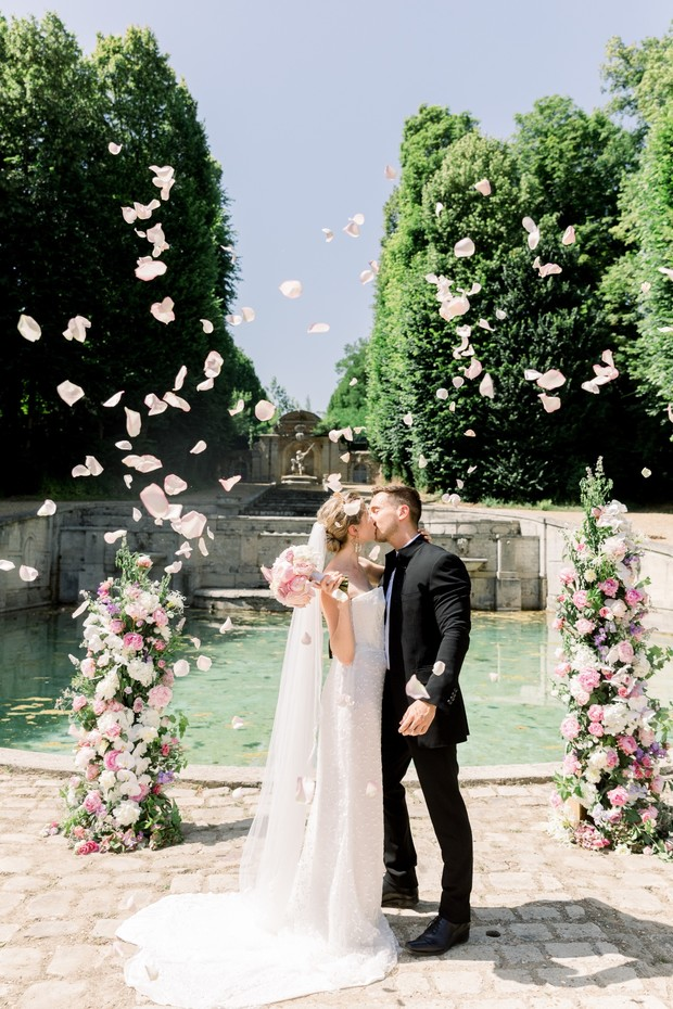 Outdoor wedding ceremony design