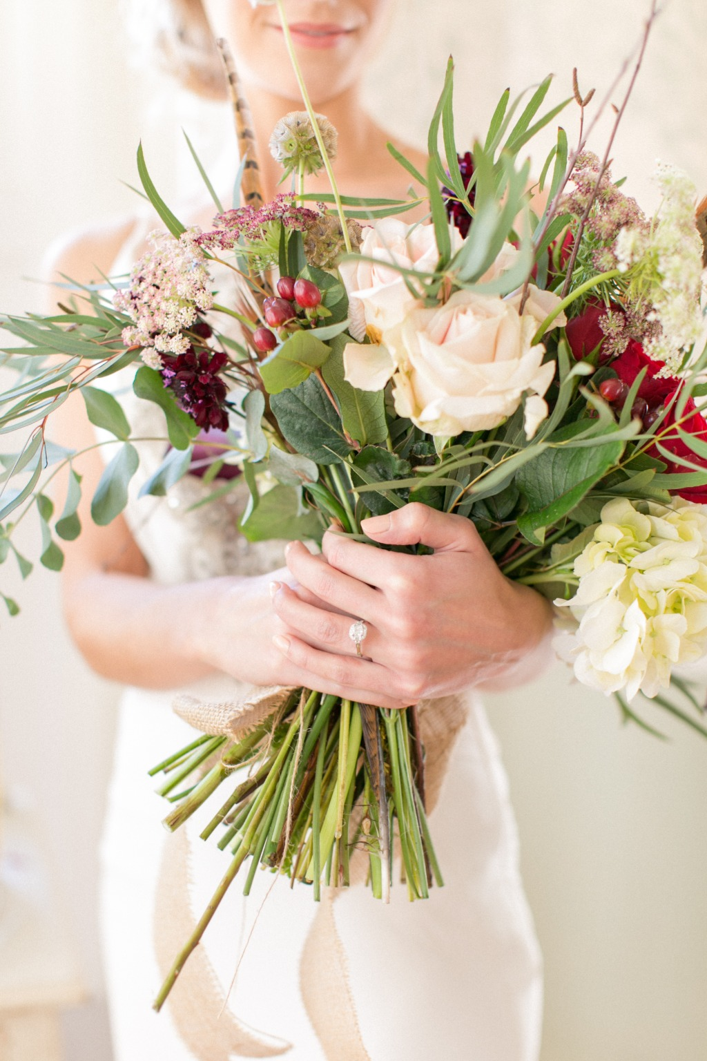 Gorgeous Florals for a Winter wedding