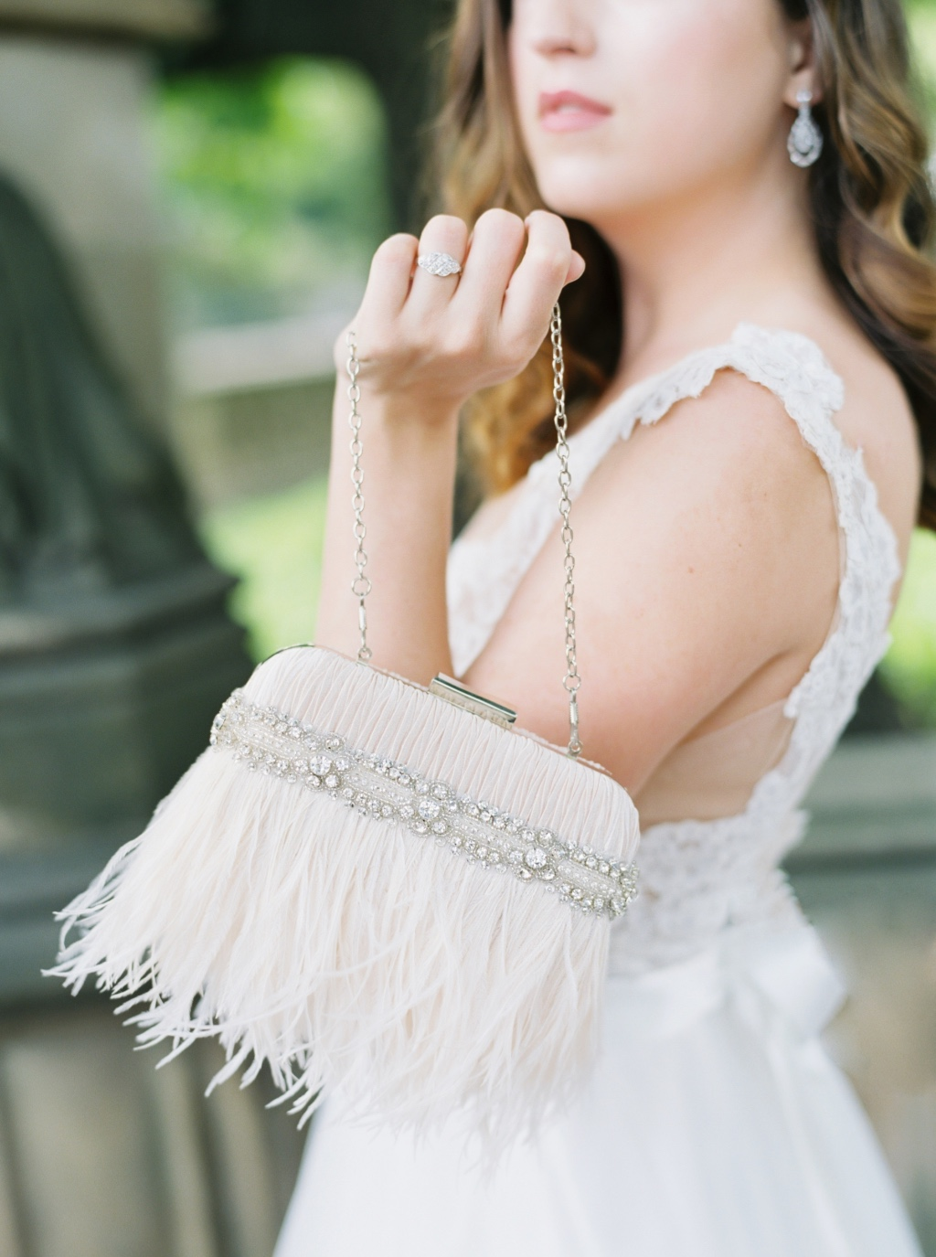 Blush details that are so romantic and dreamy