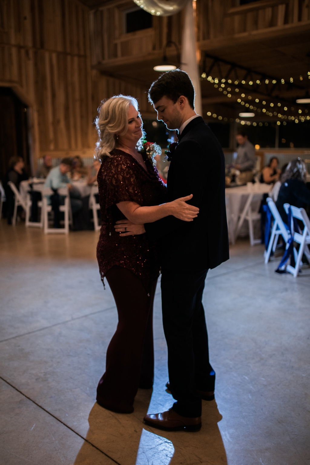 What does your first dance with mom look like?