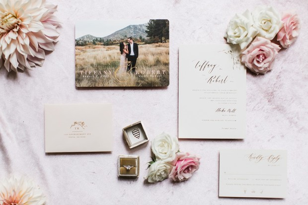 wedding invitation suite idea
