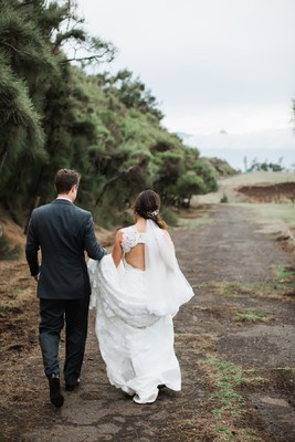 A Dreamy Secret Garden Wedding In Hawaii
