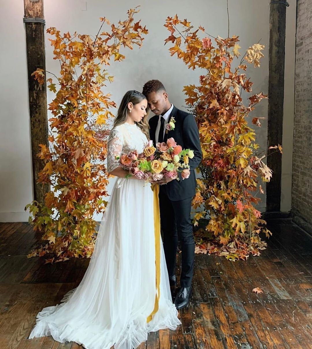 FALL COLORS! Save this for your #fallwedding inspo