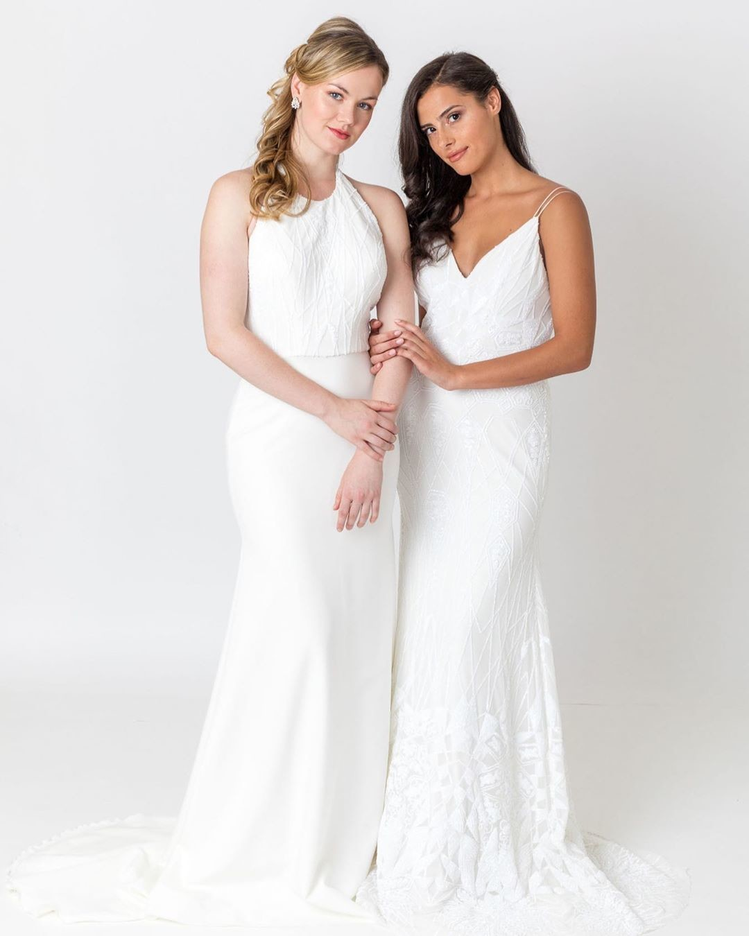 If you are a bride that wants to showcase many looks on the day, our fitted gowns from the 2020 collection are perfect to make that