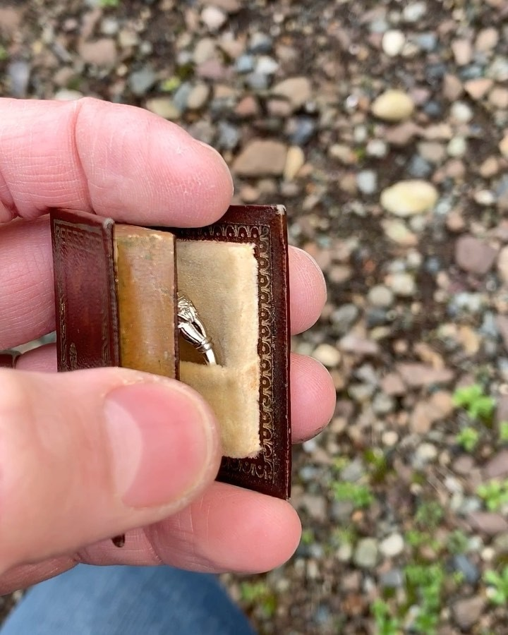 Storybook Antique Engagement Ring