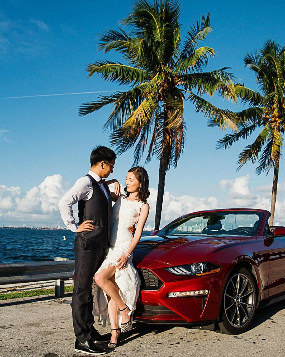 When you get a couple from China to Miami for their engagement pictures, and you have 6 hours for that shoot! At least Chinese people