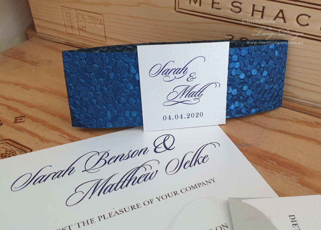 Elegant and affordable wedding invitations handmade by us