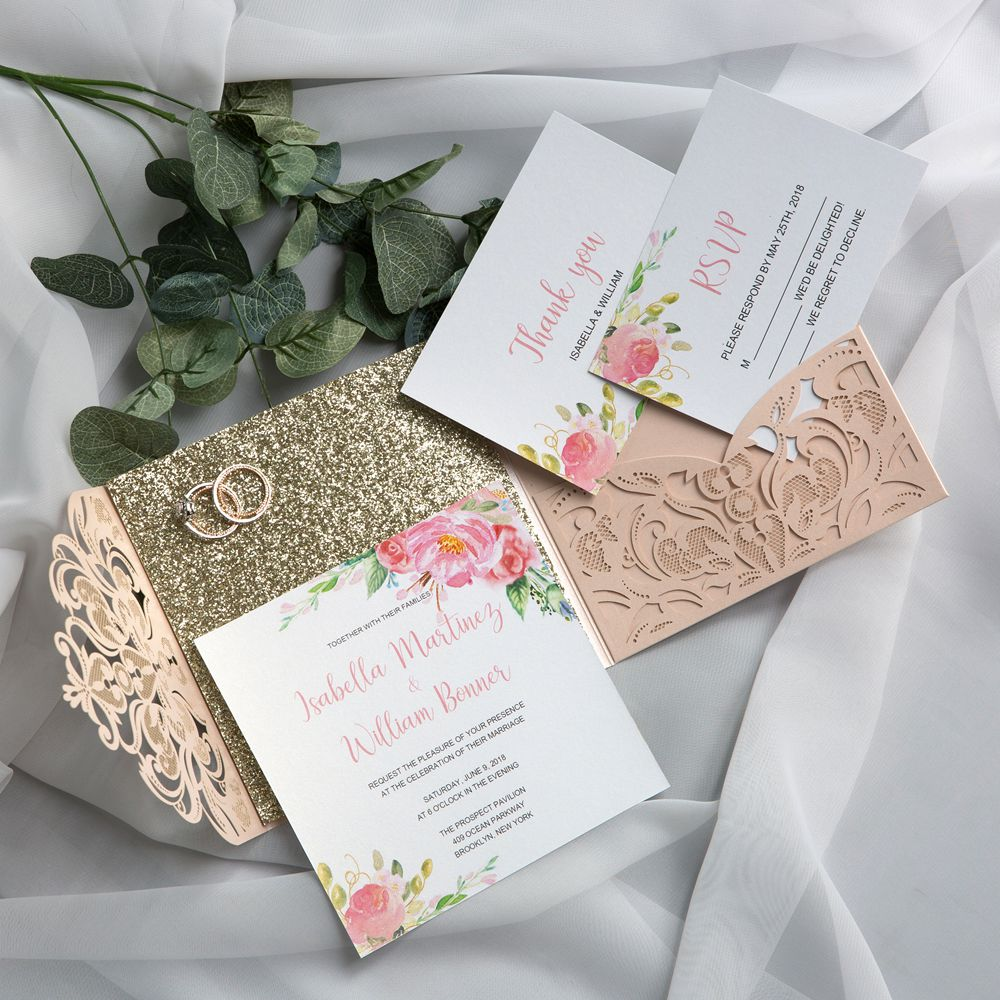 The rose gold represents the most modern color suitable to any season and any times. The luxury glittery gold green on the back leaves