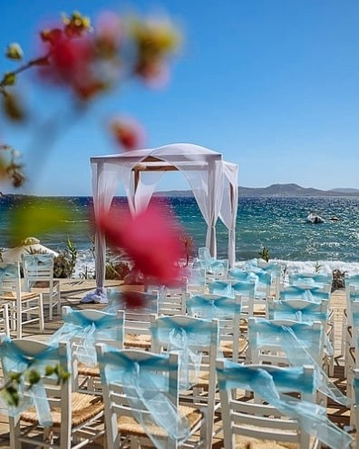 Wonderful venue in Mykonos Greece #greekislands