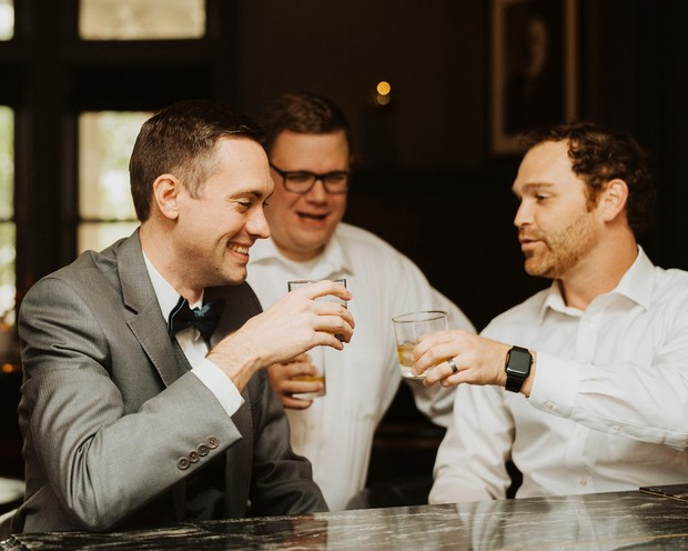 cheers to the groom to be