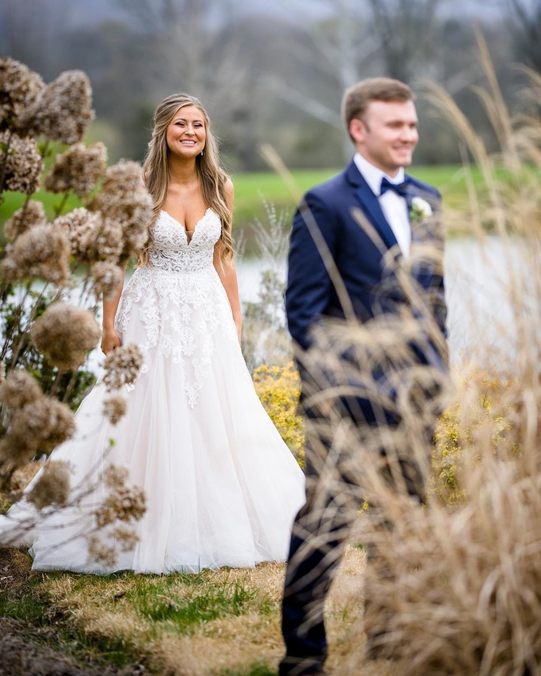 He thought she was beautiful before...wait until he turns around! Cori & Alexis were just good people and we love them dearly.
