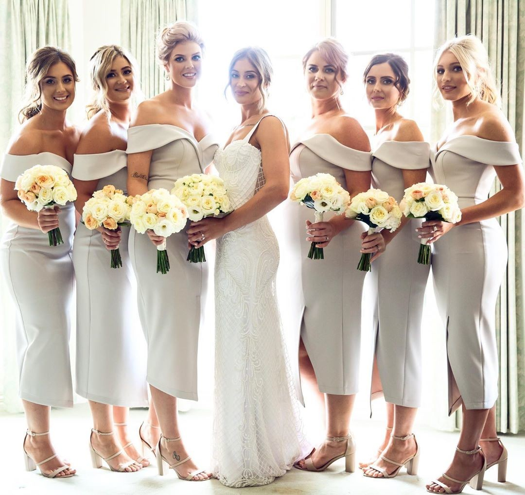 REAL RUNWAY // Emily's gorgeous #bridesmaids in