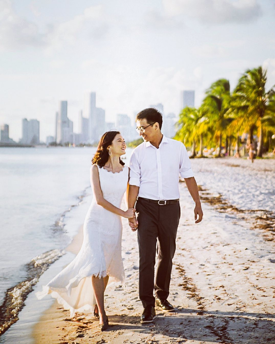 What's the better place to take a couple from China if they also want to include a beach in their engagement session? Well, I love