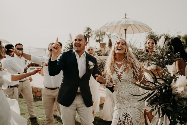 boho desert wedding in Ibiza