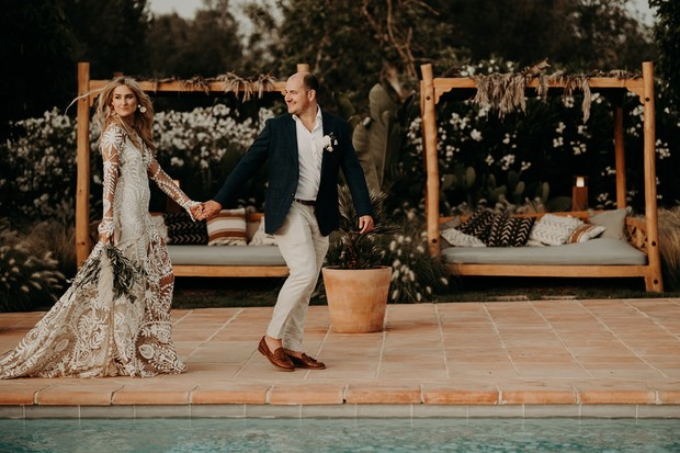 desert boho wedding in Ibiza