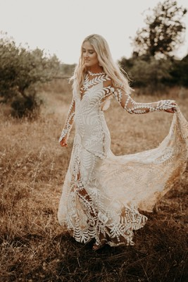 This Chic Bohemian Wedding in Ibiza is a Dream