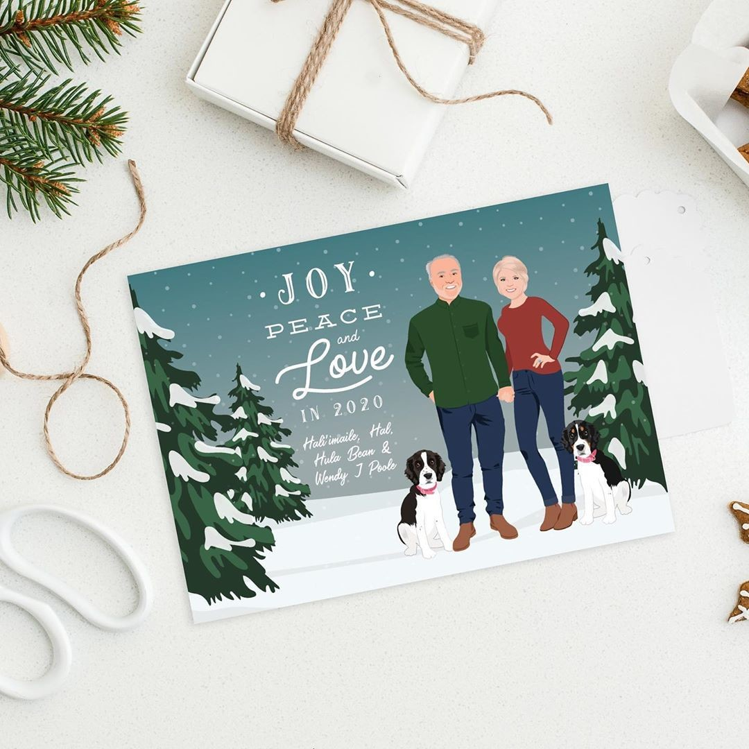 There's still time to purchase your holiday cards, just make sure to add the rush shipping⁠ option to your order! Don't you want