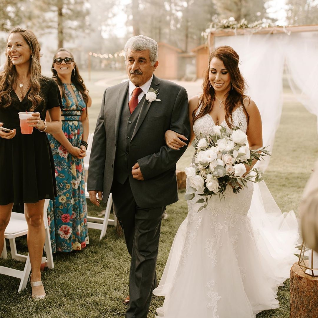 A Dreamy + Misty Lost Sierra Wedding