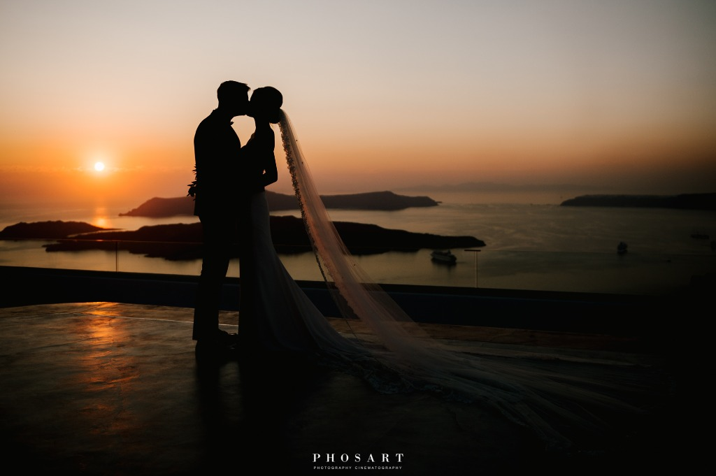 Sunset Photo Shooting, Wedding Day!