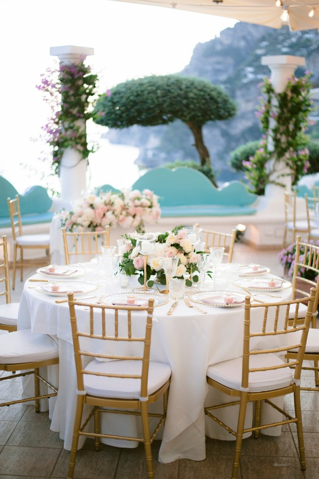 romantic reception in Italy