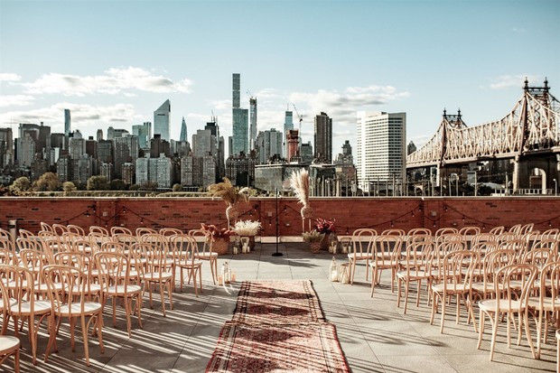 rooftop wedding in New York City