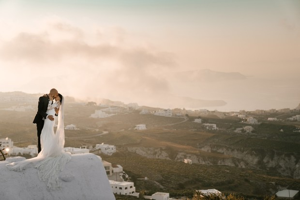 rooftop photo session in Greece