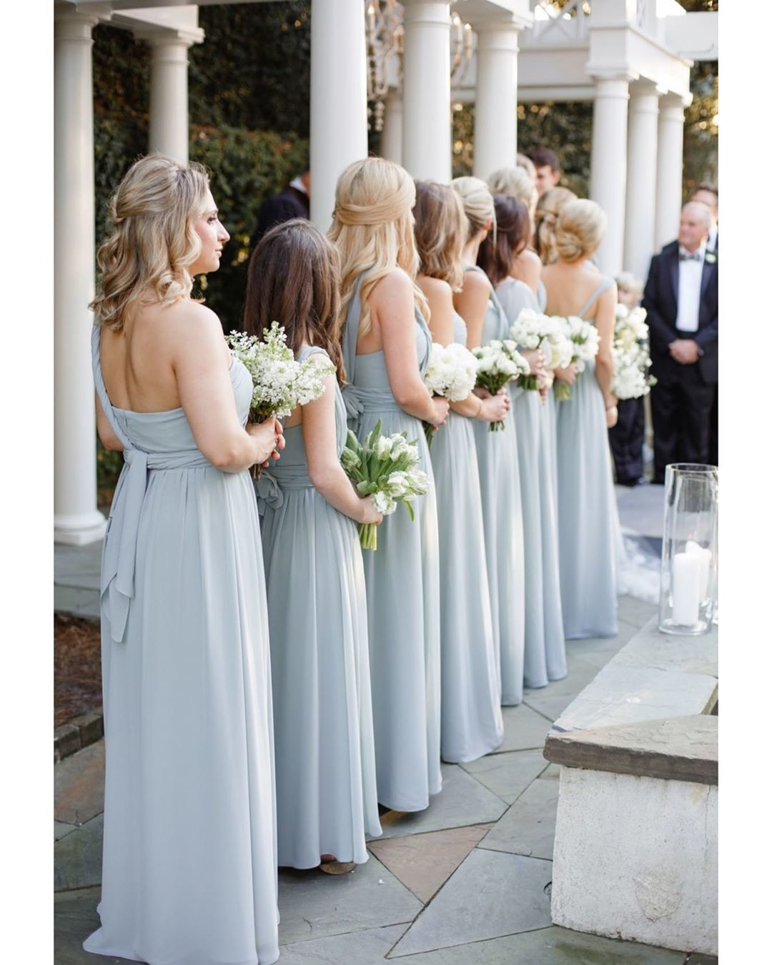 """When your """"something blue"""" is your bride tribe 🙌🏼 Venue:"""