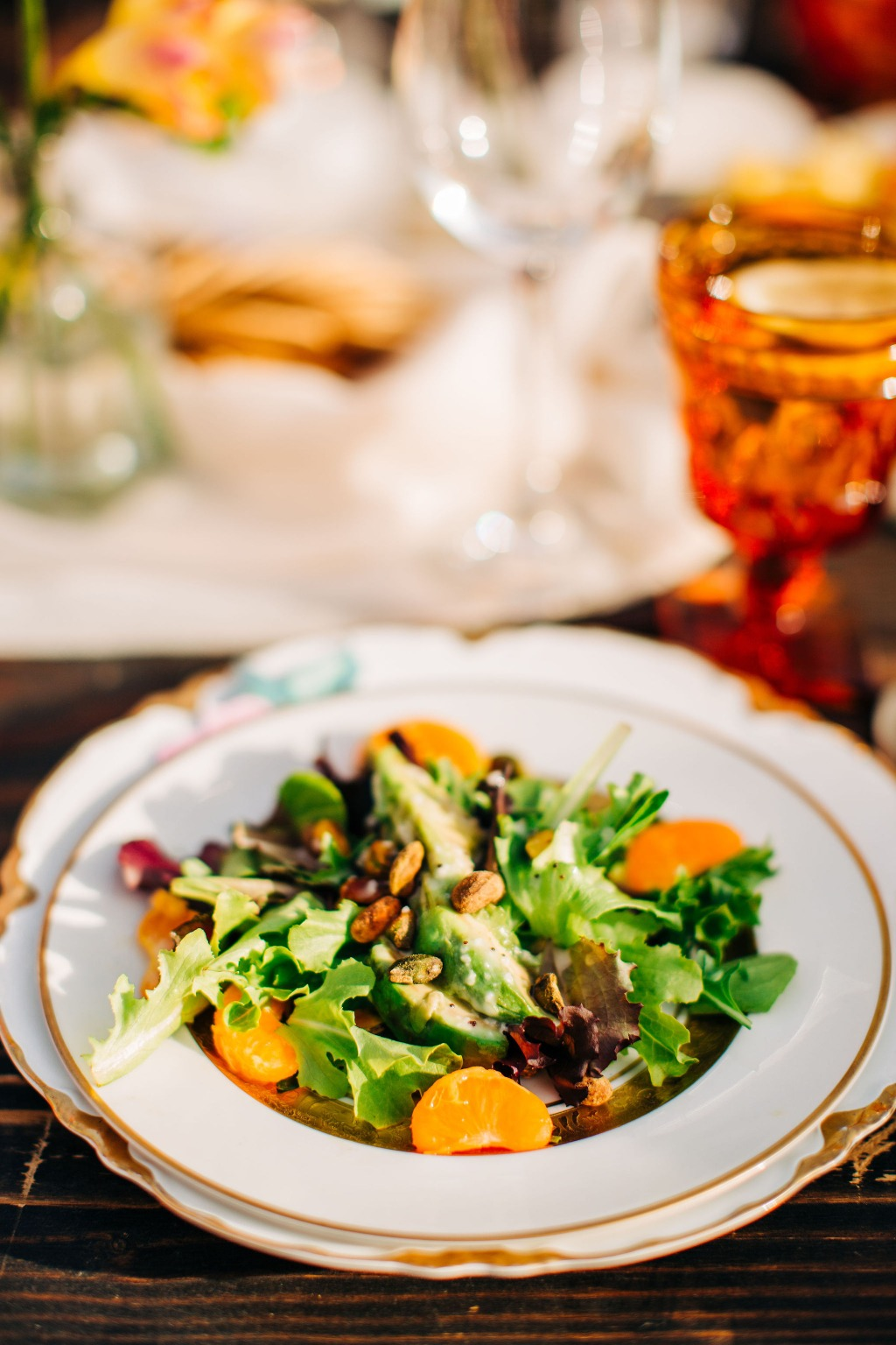 Start your menu off with a beautiful, seasonal salad!