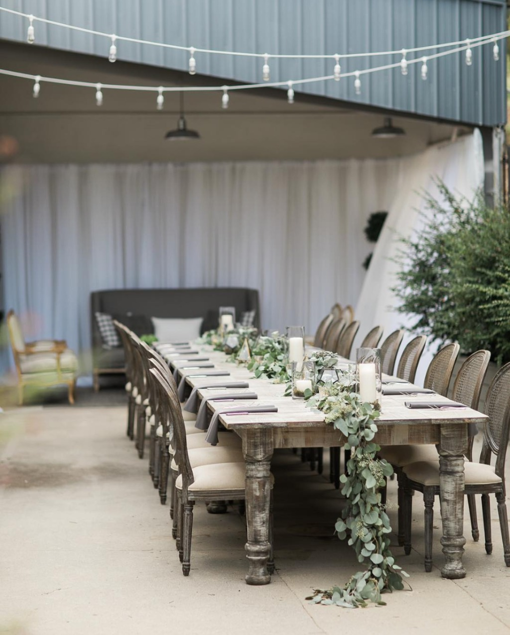 Garden Party with our Louis Chairs & Greyson Dining Table