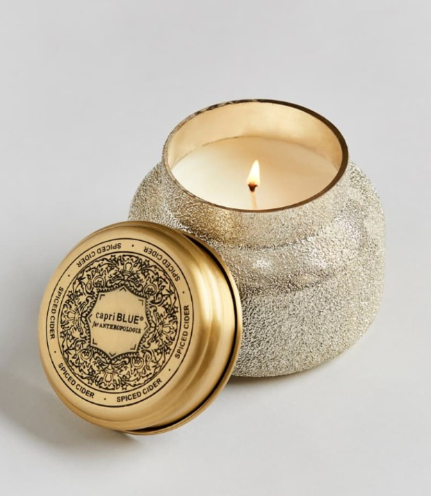 Spiced cider scented candle