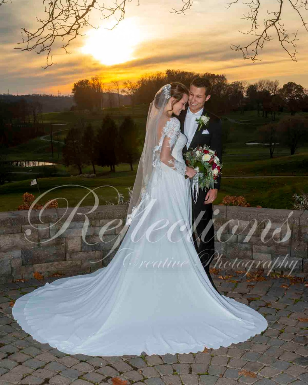 Sunset with Nicole & Raf @ Woodstone Country Club