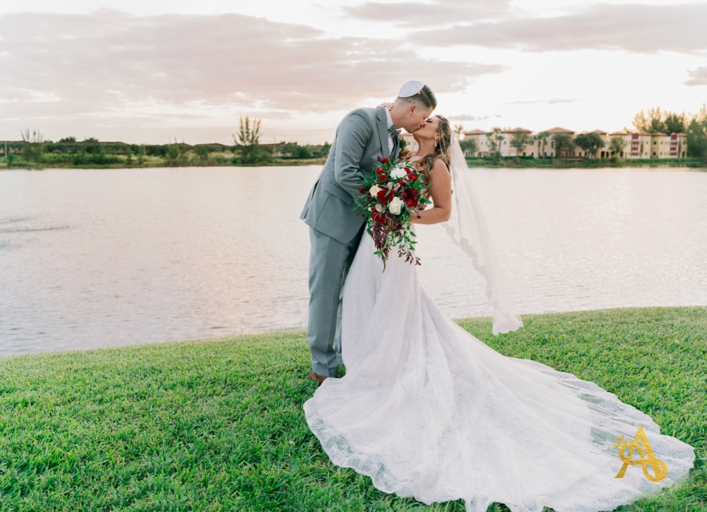 Samantha & Eric's South Florida beautiful destination fall wedding at the Vista Lago venue in Miami.