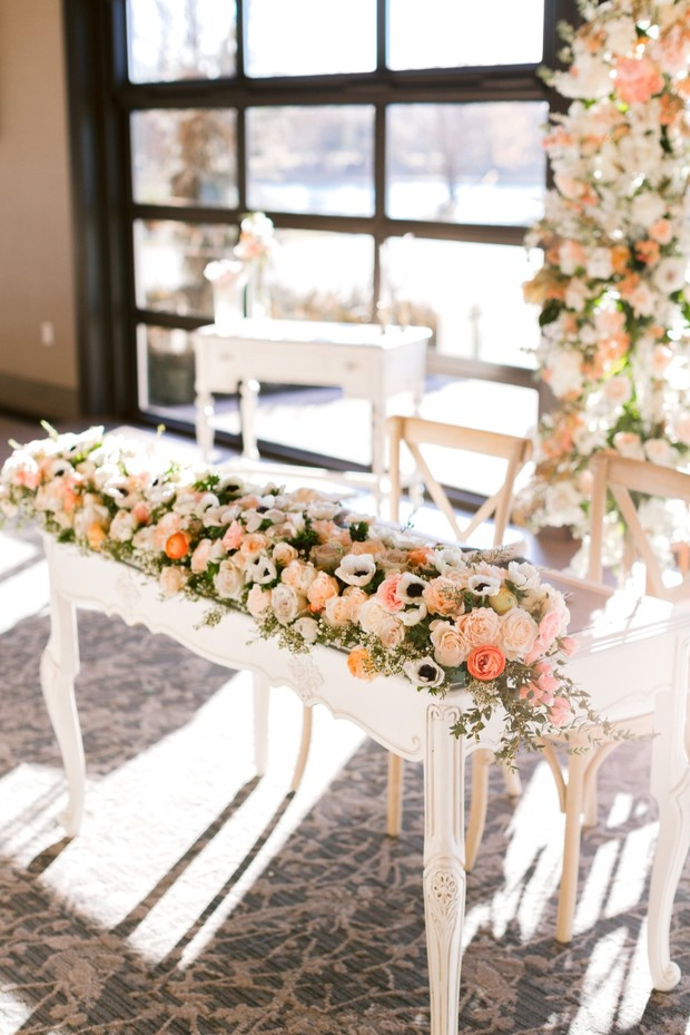 When a Florist Gets Married You Better Believe She Does Her Own