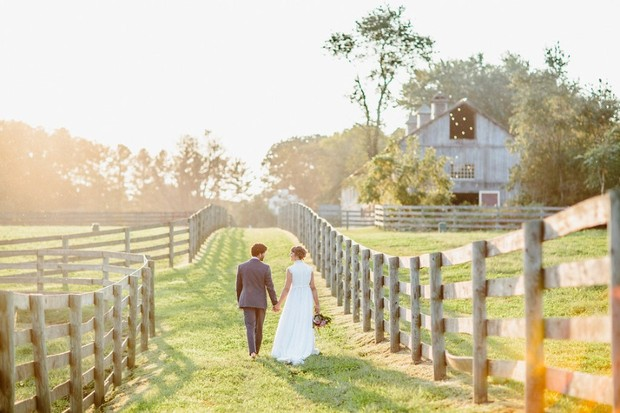 If You Get Married in a Barn, Make Sure It's At Sylvanside Farm