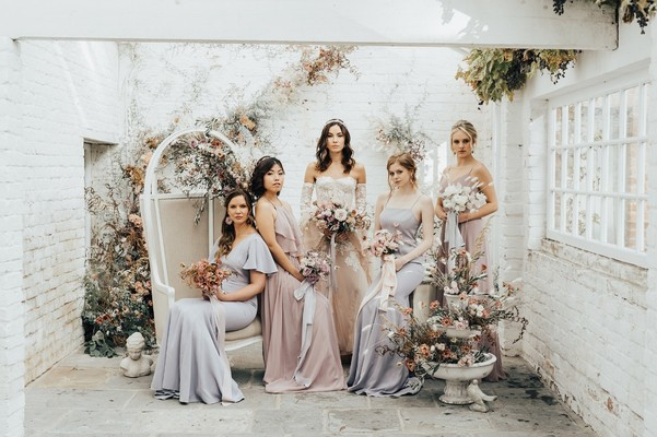 Getting Ready With Your Bridesmaids Should Be Magical Like This