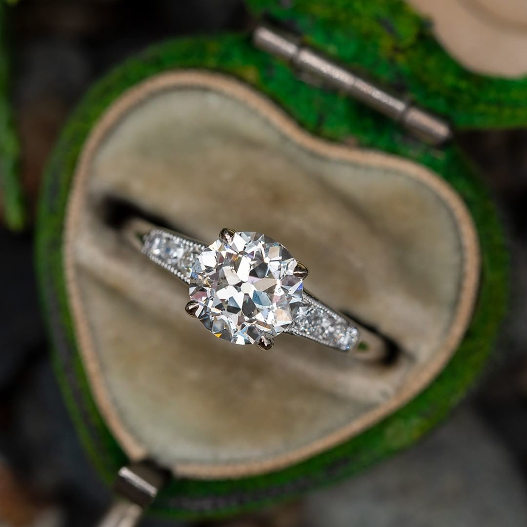Authentic Antique Engagement Ring ❤️ Sku RR16650