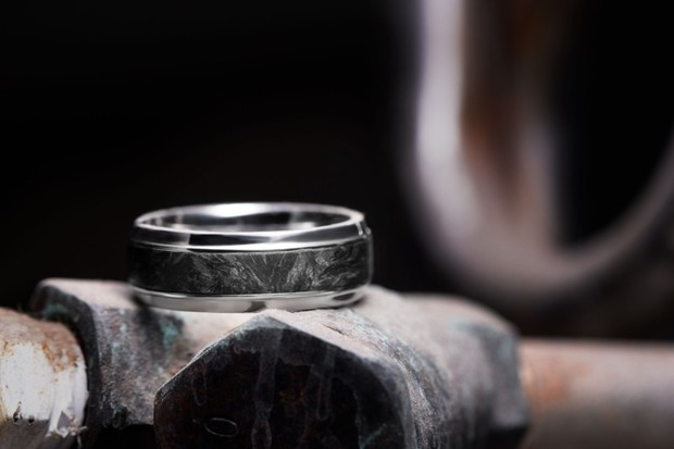 Custom Rings Aren't Just Cute for Brides, Grooms Can Get Theirs Too