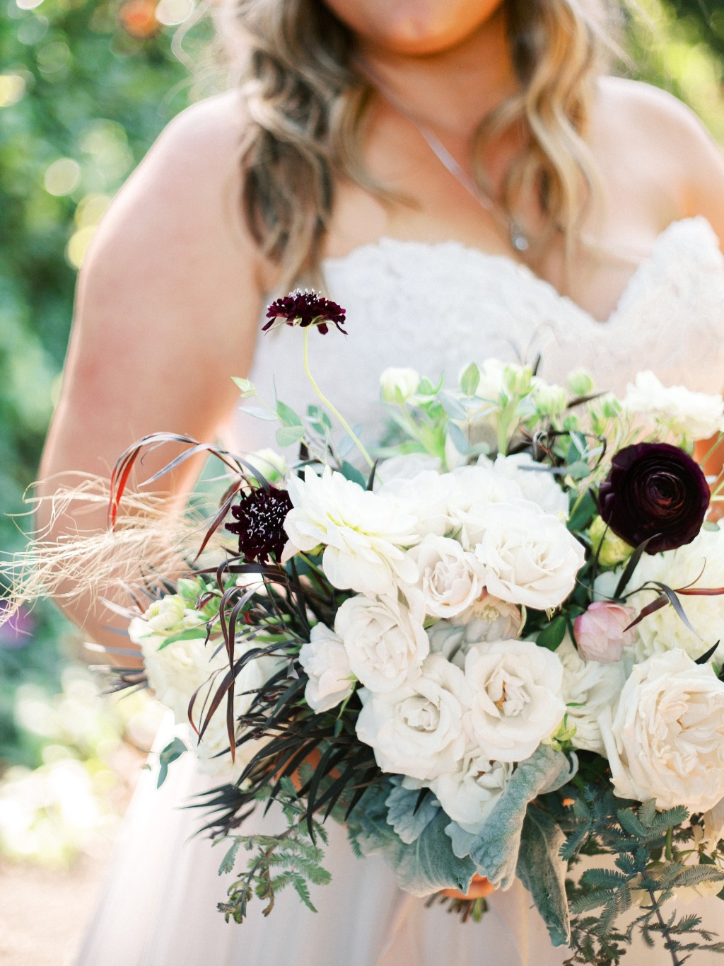 Charming cottage wedding in Southern California. Bridal Bouquet.