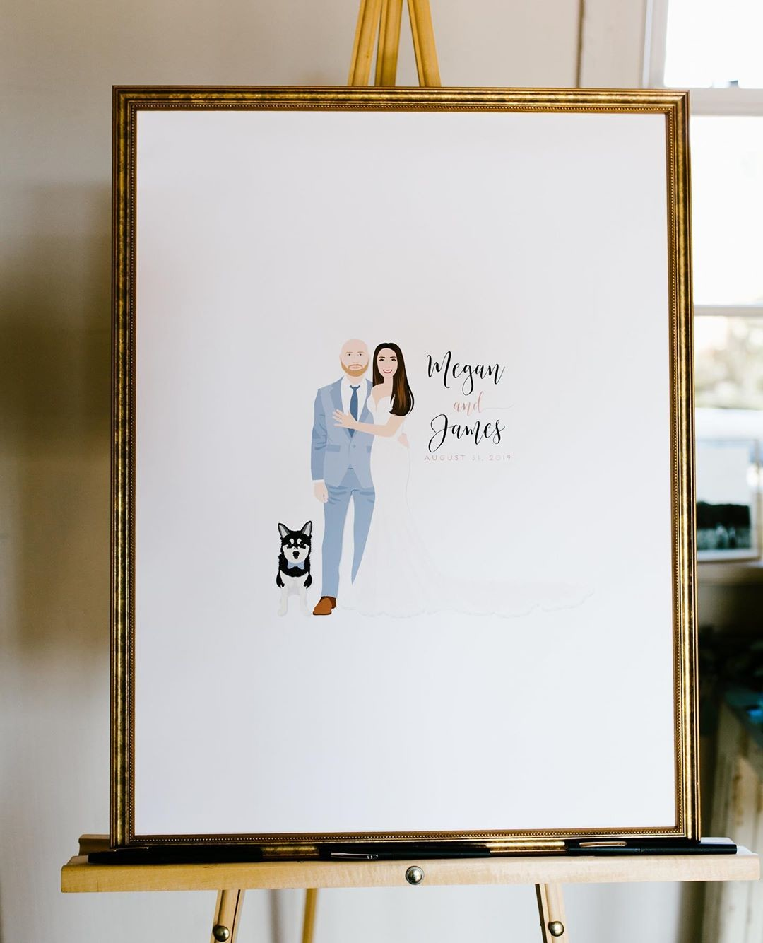 ⁠We are not lying when we say, send us MORE of your wedding photos! 🙌 We love to see your guestbooks, cocktail signs, welcome
