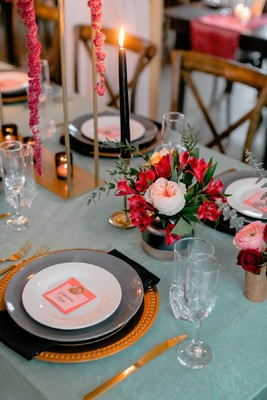 An Alternative Glam Rustic Modern Wedding Inspiration