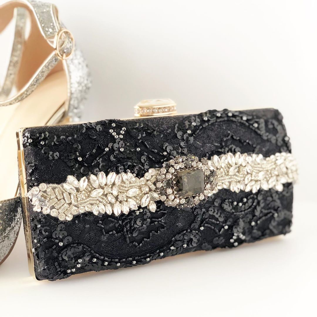 "The ""Perfect"" little black clutch that you will definitely need this holiday season."
