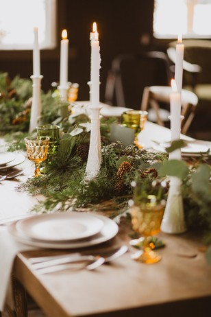 rustic wintertime wedding ideas