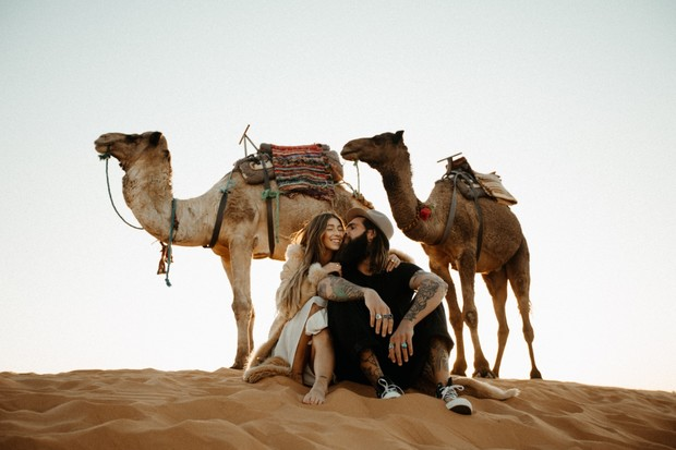 camel rides in the Sahara