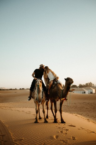 lets elope to Morocco and ride camels