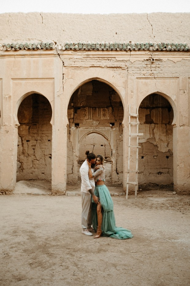 wedding elopement in Morocco