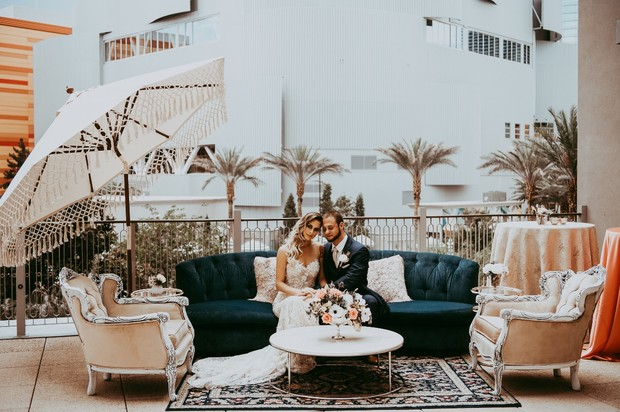 wedding lounge at the Park MGM Nomad